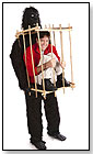 HouseHaunters Incredible Man Trapped in Gorilla Cage Costume by HOUSEHAUNTERS