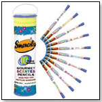 Smencils Gourmet Scented Pencils (Set of 10) by INTERNATIONAL ARRIVALS