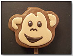 Covered Rice Krispy Treat Pop - Sweets the Monkey by FORBIDDEN SWEETS