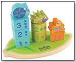 Boikido Eco-friendly Wooden Stack & Count Shapes by BOIKIDO