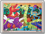 Prehistoric Sunset Jigsaw Puzzle by MELISSA & DOUG