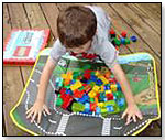 LEGO® CITY FIRE ZipBin® Large Toy Box Playmat by NEAT-OH! INTERNATIONAL LLC
