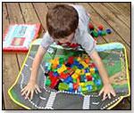 LEGO® CITY FIRE ZipBin® Large Toy Box Playmat
