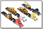 Truck-Trailer-Machine Combos - 12 pc assortment by NORSCOT COLLECTIBLES