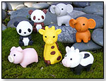 Iwako Japanese Puzzle Erasers - Animals by BC INDUSTRIES