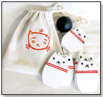 Wooden Bowling Set - White by KITTY BABY LOVE