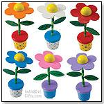 Floppy Flower Push Puppet by TOYSMITH