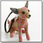 Fuzzy Nation - Chihuahua Plaidberry Wristlet by MANHATTAN TOY