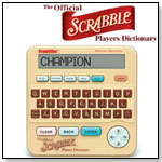 The Official SCRABBLE® Players Dictionary, 4th Edition by FRANKLIN ELECTRONIC PUBLISHERS