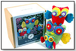 Owl Sewing Kit by KIT AND CABOODLE DESIGNS LLC