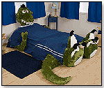 Ty the Male Tyrannosaurus Rex Plush Bed Frame by THE INCREDIBEDS LLC