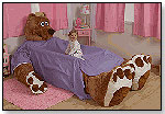 Penelope the Brown Bear Plush Bed Frame by THE INCREDIBEDS LLC