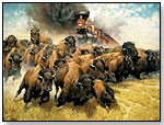 """""""The Iron Horse"""" Jigsaw Puzzle by AMERICAN PUZZLE COMPANY"""