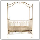 Heirloom Iron Juvenile Canopy Crib by CORSICAN KIDS