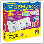 Create Your Own: 3 Bitty Books by CREATIVITY FOR KIDS