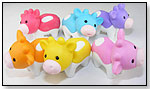 Iwako Cow Eraser in Six Colors by BC INDUSTRIES