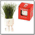 Igrobot I Grow Grass Growing Robot Planter by NOTED CO