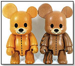 Woodgrain Teddy Qees by Toy2R
