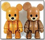 Woodgrain Teddy Qees by Toy2R