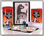 Eye Can Art Sumi-e Painting Kit by BLUE ART BOX LLC