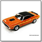 Johnny Lightning JL - 1970 Dodge Challenger R/T Hard Top. 1:24 scale diecast collectible model car by TOY WONDERS INC.