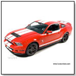Greenlight - 2010 Ford Shelby GT500 Hard Top 1:18 scale diecast collectible model car by TOY WONDERS INC.