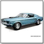 MAISTO Special Edition - 1968 Ford Mustang GT Cobra Jet Hard Top. 1:18 scale diecast collectible model by TOY WONDERS INC.