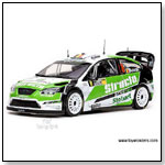Sun Star Modern Rally - Ford Focus RS WRC07 Race Car F.Duval/P.Pivato #8 (3rd Rallye Deutschland 2008 ) 1:18 scale diecast collectible model car</titl by TOY WONDERS INC.