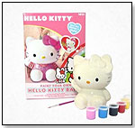 Hello Kitty Paint Your Own Bank Kit by SANRIO