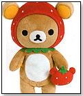 San-X Rilakkuma Strawberry Relax Bear by ITASHO