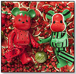 Strawberry and Watermelon Be@rbrick Set by MEDICOM TOY CORPORATION