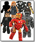 Marvel Iron Man 2 Battle Tactics Minimates 4 Pack