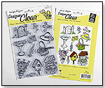 In the Garden Clear Stamp Set by JANLYNN CORP.