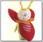 Beetle Trixie Clutching Toy Rattle by HABA USA/HABERMAASS CORP.