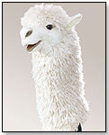 Alpaca Stage Puppet by FOLKMANIS INC.