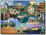 Wonders of the World Puzzle by RAVENSBURGER