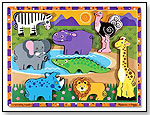 Safari Chunky Puzzle by MELISSA & DOUG
