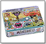 Monsters Puzzle Tin by MUDPUPPY PRESS