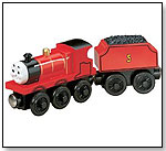 Thomas & Friends Wooden Railway ? James the Red Engine by LEARNING CURVE