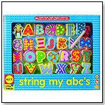 String My ABC's by ALEX BRANDS