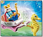 Ocean King with Seahorse Carriage by PLAYMOBIL INC.