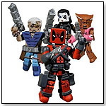 Marvel X Force Minimates 4 Pack