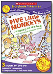 Five Little Monkeys Jumping On the Bed ... and more great children's stories (A Sign Language DVD) by NEW VIDEO GROUP INC. / A&E HOME VIDEO