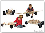 Timberworks Toys Wheeled Vehicle Set by TIMBERWORKS TOYS