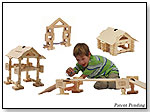 Timberworks Toys Small House/Bridge Set by TIMBERWORKS TOYS