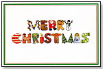Merry Christmas Holiday Card by GOOD BUDDY NOTES