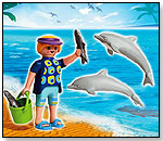 Dolphin Trainer with Dolphins by PLAYMOBIL INC.