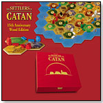 The Settlers of Catan - 15th Anniversary Wood Edition by MAYFAIR GAMES INC.