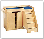 Changing Table with Stairs by JONTI-CRAFT INC.