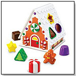 Smart Snacks Gingerbread Shape Sorter by LEARNING RESOURCES INC.